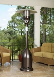 Fire Sense Old World Bronze Finish Deluxe Patio Heater