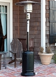 Fire Sense Black Powder Coated Standard Patio Heater