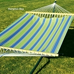 Algoma 11' Fabric Hammock - Hampton Bay Summer Print