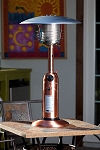 Fire Sense Copper Finish Table Top Patio Heater