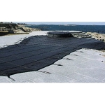 16' x 32' Rectangle Commercial Mesh Safety Pool Cover - 25yr Warranty
