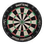 Shot King Sisal 18 In. Dart Board
