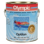 Optilon Synthetic Rubber Base Enamel - 1 Gallon - White