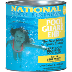 Pool Guard Ehb Epoxy High Build Pool Paint Medium Blue