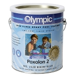 Poxolon 2 Two Coat Epoxy Pool Paint - 1 Gallon - White