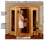 Santa Fe  - 3 Person Sauna w/ Carbon Heaters