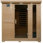 Monticello - 4 Person Sauna w/ Carbon Heaters