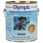 Zeron Heavy Duty One Coat Epoxy Pool Paint - 1 Gallon - Blue Ice