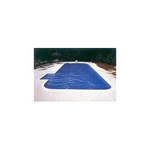 16' x 32' Rectangle Solar Blanket - 12mil - 5yr Warranty