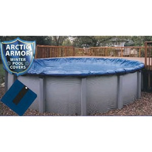 15' Round Arctic Armor Gold Series Winter Pool Cover 15yr - 4' Overlap