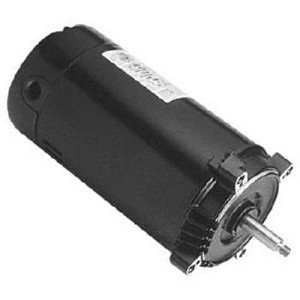 1.5 hp Single Speed Replacement Motor (115/230v) - 56J Threaded Shaft