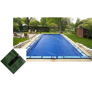 16' x 24' Rect Arctic Armor Silver Series In-ground Winter Pool Cover 12yr