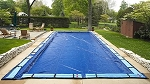 12' x 20' Rectangle In-Ground Winter Pool Cover - 8yr Bronze